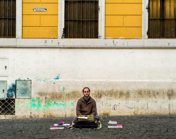 Walter Lazzarin scrittore di strada 3