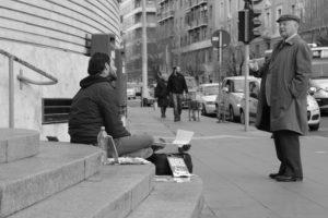 Walter Lazzarin scrittore di strada