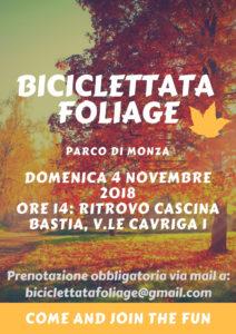 Biciclettata Foliage