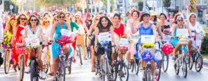 Fancy women bike ride 1